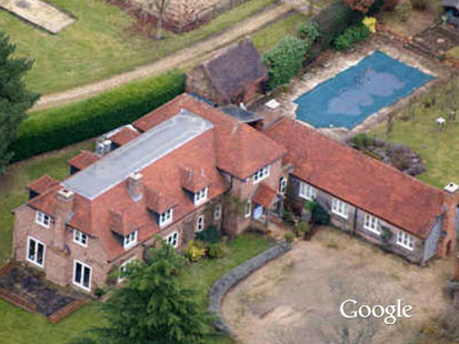 In The Latest Google Earth Prank, Using A Can Of White Paint, An English  Teenager Painted A 60 Foot Phallus On The Roof Of His Parentsu0027 Home, ...