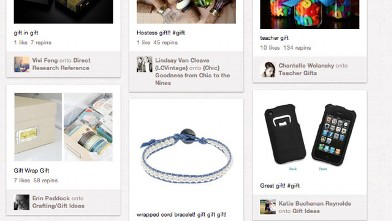 PHOTO: A gift board on Pinterest