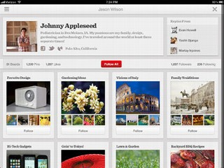 Pinterest Launches iPad, Android Apps