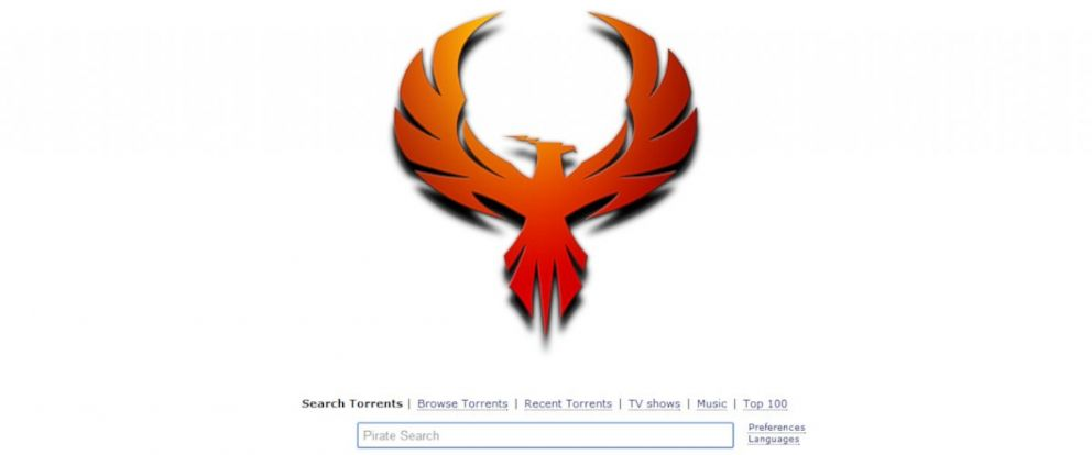 PHOTO: A screenshot of the new Pirate Bay website.