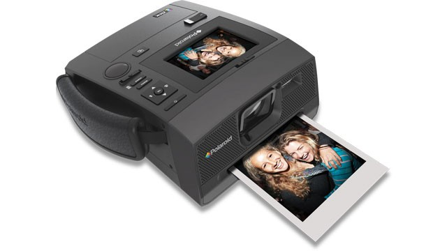 PHOTO: Polaroid's new camera, the Z340, merges digital and instant photography.