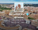 PHOTO: When Pope Benedict XVI resigns from the papacy, so will his Twitter account.
