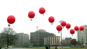 Whats With the Red Balloons? Military Offers $40k in Contest