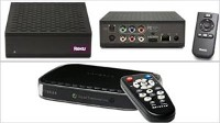 Photo: Big Video Selection in a Small Box: Inexpensive streaming devices bring Internet video to the TV