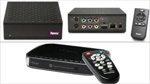 Photo: Big Video Selection in a Small Box: Inexpensive streaming devices bring I