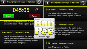 iPhone tells moviegoers when to pee