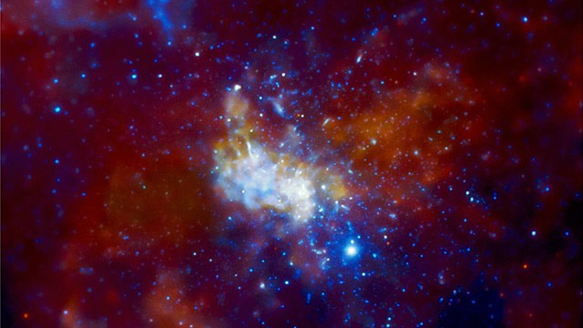 PHOTO: Sagittarius A black hole