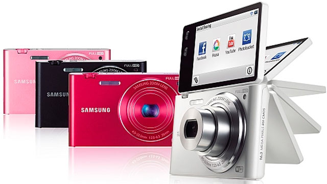 PHOTO: The Samsung MV900F Wifi Camera is seen here in this undated handout photo.