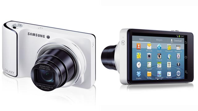 PHOTO: Samsungs Galaxy Camera brings the connectivity and sharing features of Android to a point-and-shoot camera.
