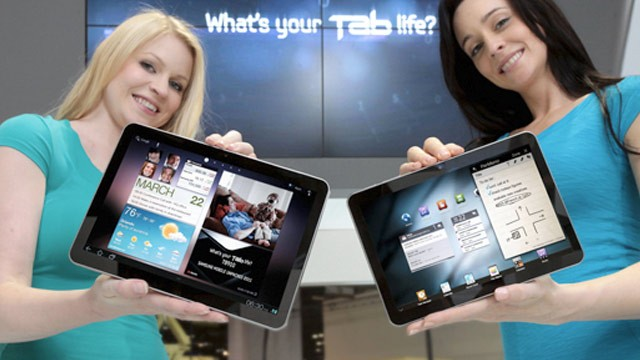 PHOTO: Samsung Galaxy Tab 8.9 and Galaxy Tab 10.1