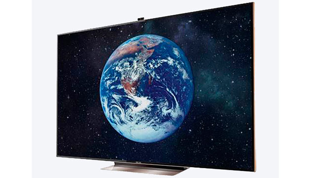 "PHOTO: The Samsung 75"" TV is seen here in this undated handout photo."
