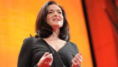PHOTO: Sheryl Sandberg speaks at TEDWomen, 2011.