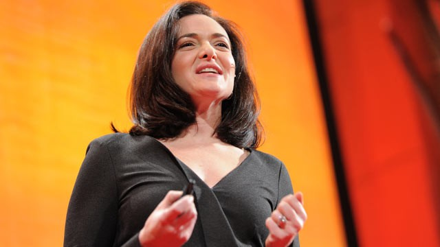 PHOTO:&nbsp;Sheryl Sandberg speaks at TEDWomen, 2011.