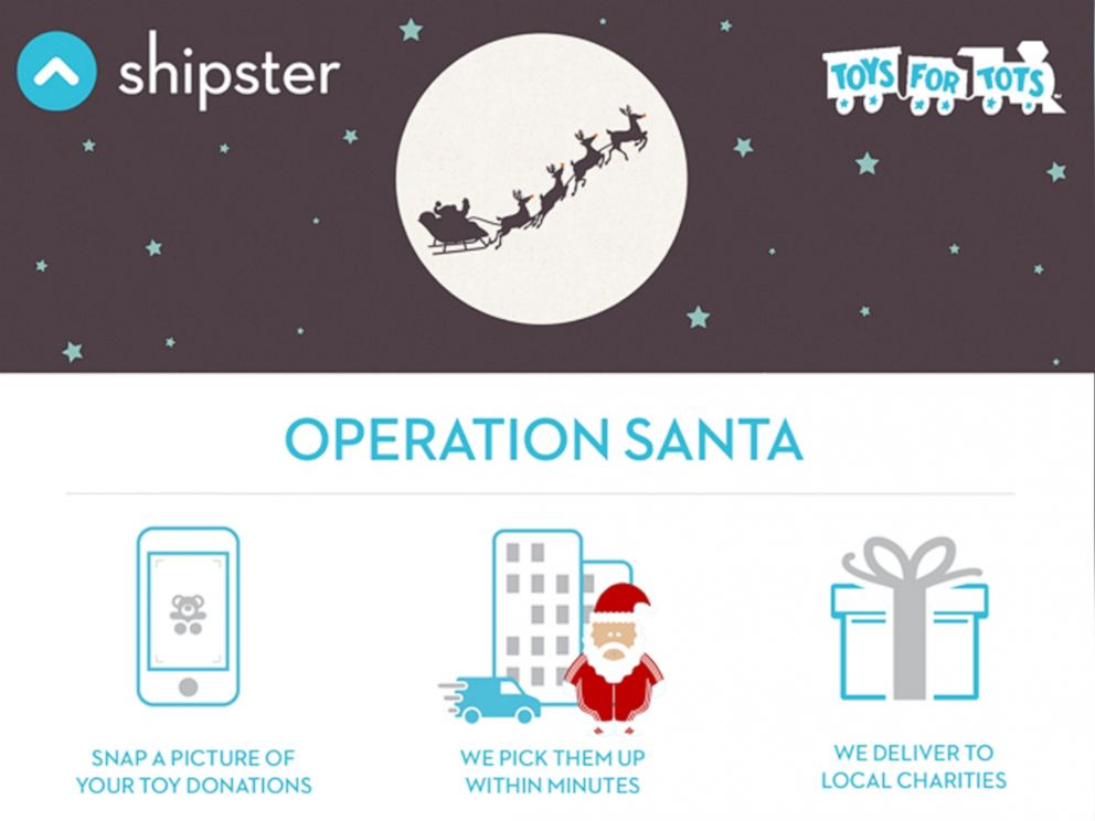 This On-Demand Delivery App Lets You Donate a Toy Just By ...