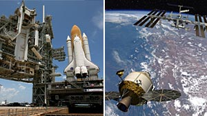 Photo: Save the Space Shuttles: White House Panel: Augustine Commission Says Reverse Bush Plan to Retire Shuttles by 2010