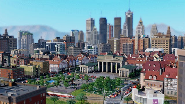 PHOTO: The new SimCity launched in March 2013.