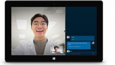 PHOTO: Skype Translator has added two new languages: Mandarin Chinese and Italian.