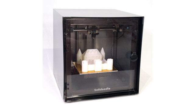 PHOTO: The Soilddoodle is the first affordable 3D printer -- it costs $499.