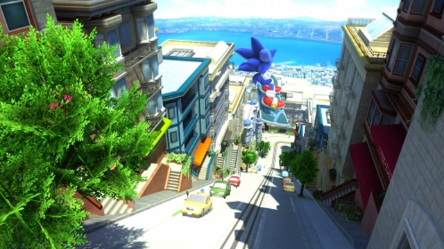 PHOTO: A screenshot of Sonic Generations on Xbox is shown.