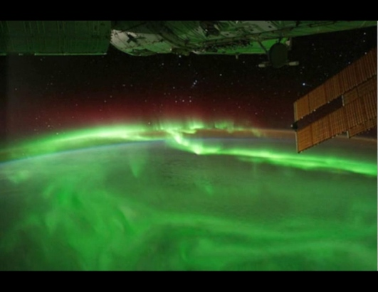 Aurora Seen From Space Station