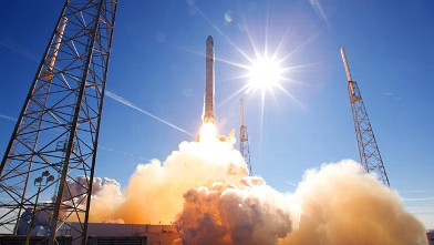 PHOTO: SpaceX launch