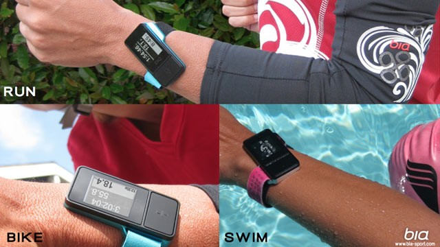 PHOTO:&nbsp;The Bia GPS sports watch is due out in April 2013; it was designed by two women for women.