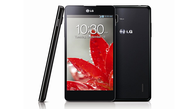 PHOTO: The LG Optimus G phone from Sprint is shown in this photo.