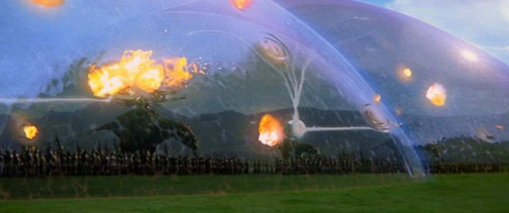 "PHOTO: Pictured is a still of the Battle of Naboo from ""Star Wars Episode I: The Phantom Menace."""