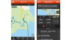 PHOTO: Strava Cycling syncs with your iPhone, Android or Garmin device and lets users record, track and analyze their rides.