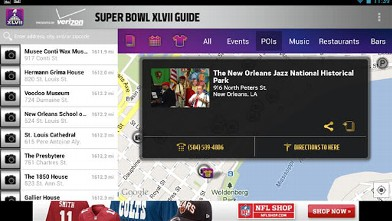 PHOTO: The official Super Bowl app is available for Android and iOS.