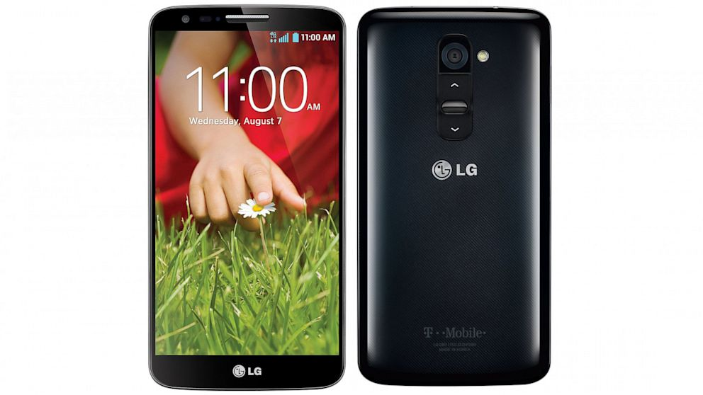 PHOTO: LG G2 smartphone