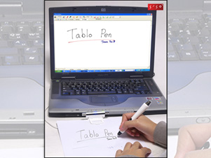 PHOTO The Siso Tablo from Hantech is a pen-like device that turns any laptop computer
