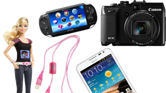 PHOTO: Seen here are the best gadget of the week.