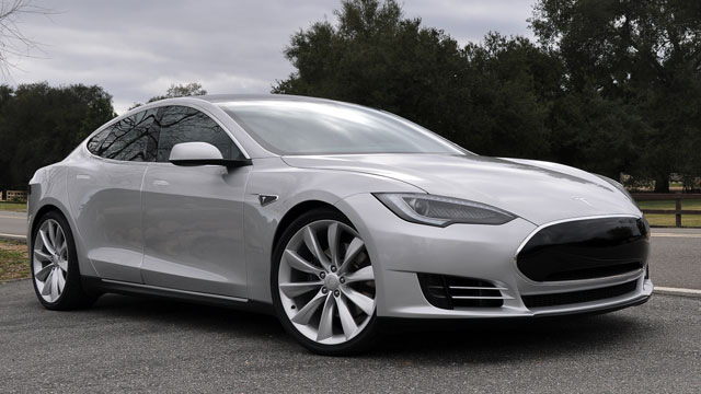 PHOTO: Telsa Model S Sedan is seen in this undated file photo.
