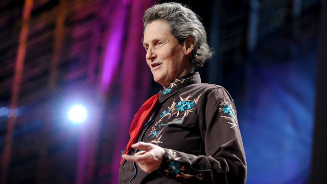 PHOTO: Temple Grandin speaks at the TED2010 during Session 9: