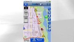 PHOTO: Trapster, a free app for the iPhone, warns users of speed traps.