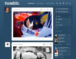 PHOTO: A screenshot of Tumblr, the popular blogging-based social network.