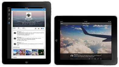 PHOTO: Twitter introduced a redesigned iPad app and header photo option, Sept. 18, 2012.