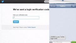 PHOTO: Twitter's two-factor verification requires you to confirm your Twitter account is yours with a special code.