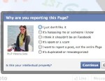 PHOTO: There are a number of unauthorized Facebook pages exploiting the victims of Newtown, Conn. shooting. Facebook does offer an option to report pages that users feel are infringing on its terms of use.