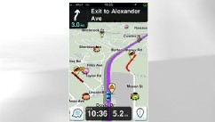 PHOTO: Waze is a social traffic app; it lets you report and see traffic jams in the area.