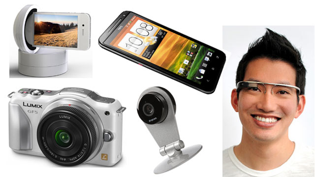 PHOTO: Seen here are this weeks Top gadgets.