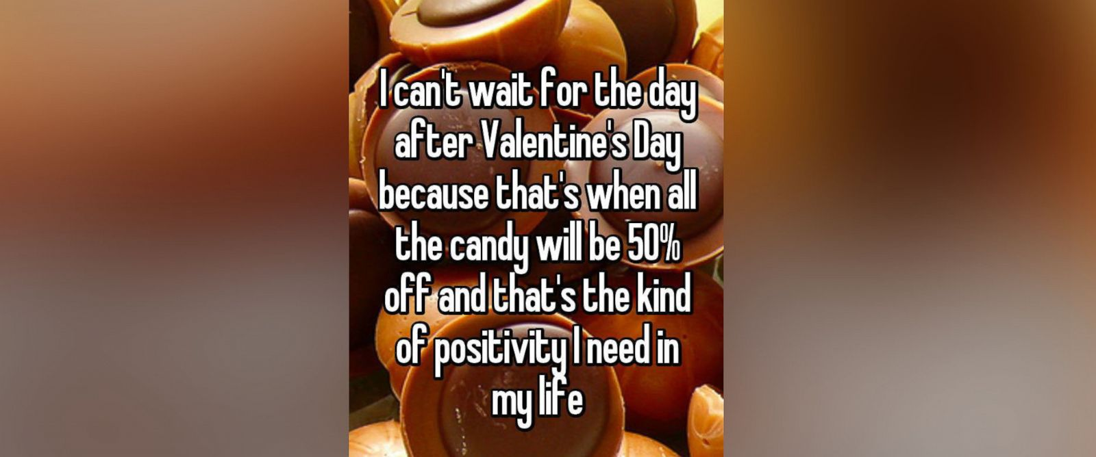 PHOTO: Whisper, the secret message app, shows what people are talking about this Valentines Day.