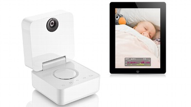 PHOTO: The high-tech Withings Smart Baby Monitor has a camera and mic.