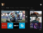PHOTO: Microsofts Xbox One interface.