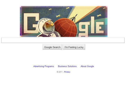 Google Honors 50th Anniversary of First Man in Space