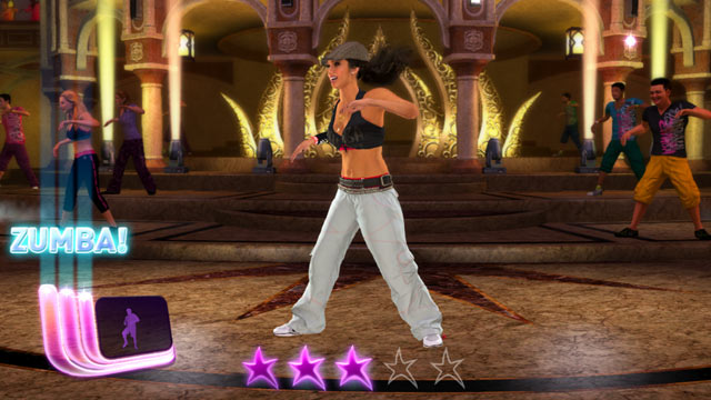 PHOTO: Zumba fitness dancing returns to XBox Kinect with Zumba Fitness Rush in February.