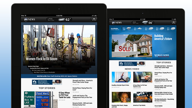 The new ABC News iPad App
