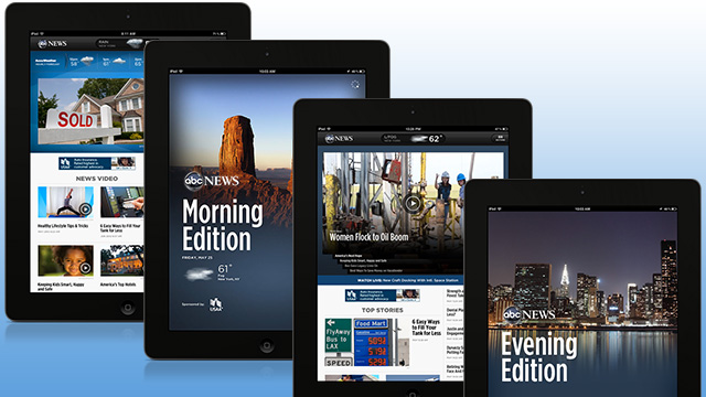 The all new ABC News iPad App
