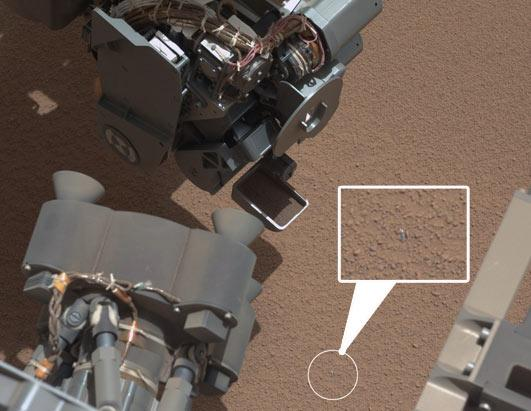 Shiny Object Found on Mars